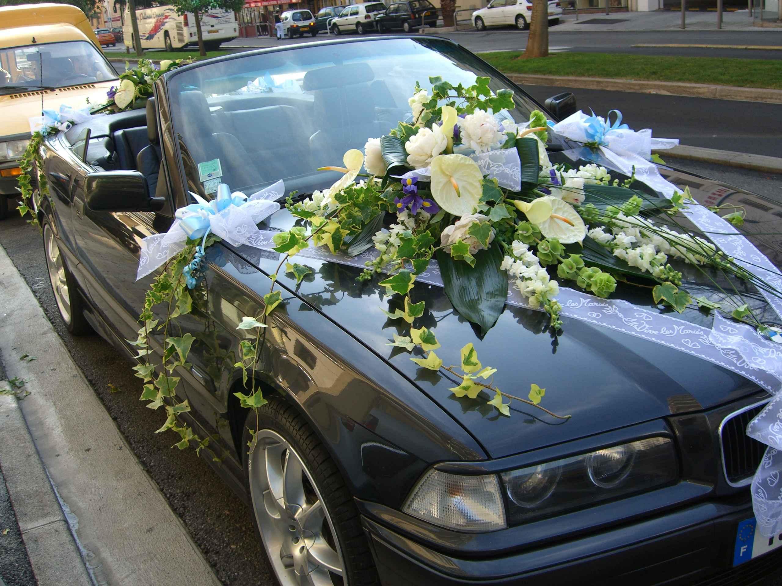 question dcoration mariage archives plante citron - Decoration Capot Voiture Mariage